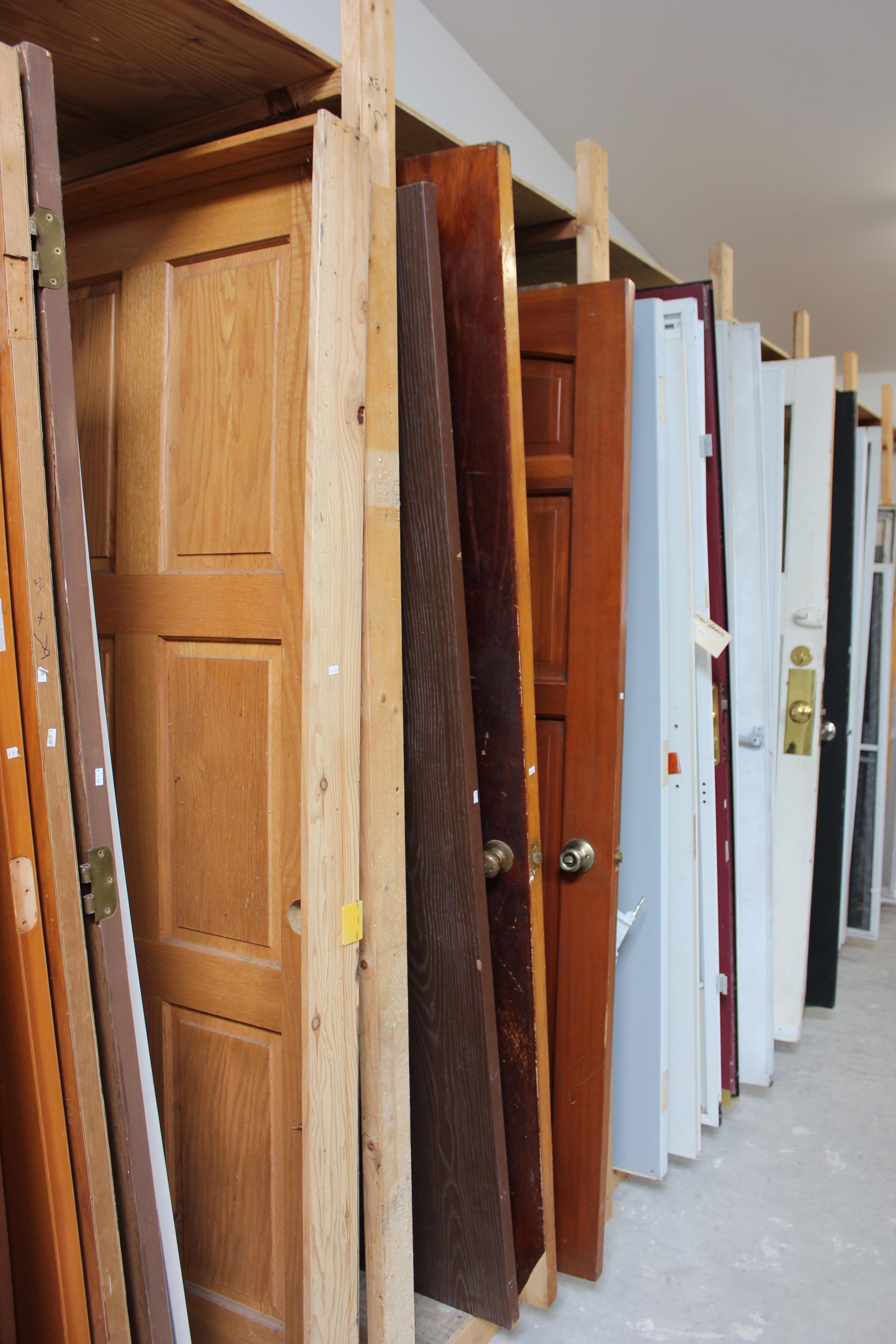 Doors, doors, and more doors