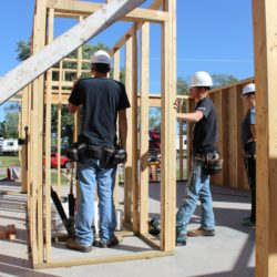 Fairfield High School Building Trades program